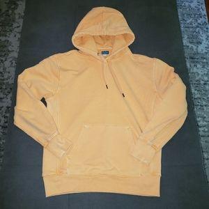 J Crew orange hoodie